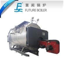 Chaudière à vapeur au gaz à combustion horizontale