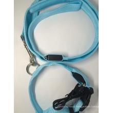 Nylon Rope Dog Leash With LED Light Pet Collars & Leashes
