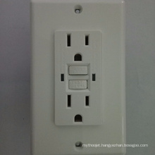 Waterproof universal wall power gfci american standard socket