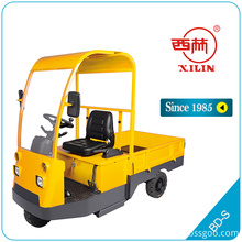 High Efficiency Factory for Ride-On Pallet Truck Xilin BD-S electric platform truck ( with cabin) supply to Cuba Suppliers