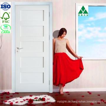 Weiß Grundierte / Primer MDF 5 Panel Shaker Tür