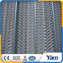 interior wall wire mesh Galvanized expanded metal lath formwork high rib lath for sale