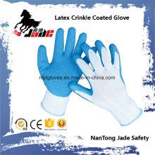 Guante de trabajo con revestimiento de látex de palma de algodón de 10g
