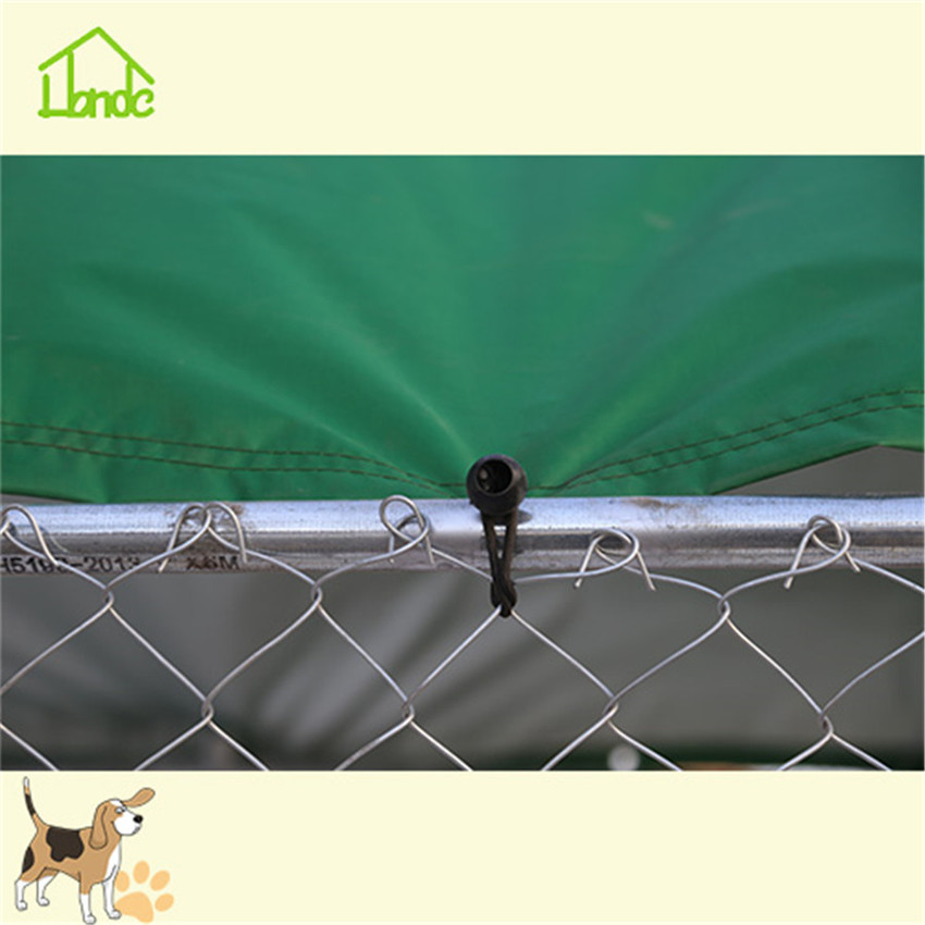 Cheap backyard large dog kennel cage from factory