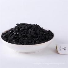 Carvão ativado impregnado de prata