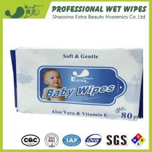 Babyfeuchttücher mit Aloe Vera Seidenpapier