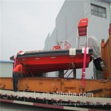 Bote de rescate rápido de FRP / bote salvavidas incluido