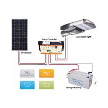 El mejor vendedor llevó la luz solar de la calle fabricante CE ROHS certificado 65w con energía solar LED calle luces precio lista