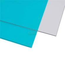 Feuille solide de toit en verre de matériau de construction pour l'auvent