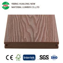 Decking coextruido compuesto plástico de madera