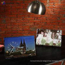 Heißer Verkauf Wärmeübertragung Sublimation Felsen Schiefer Foto SH37 40 * 25cm
