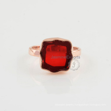 Wholesale Supplier Of Garnet Gemstone Sterling Silver Ring Jewelry