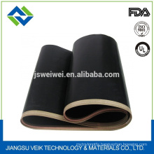 Black anti static seamless belt for fusing machine