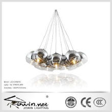 Half Chrome and Clear Glass Pendant Lamp
