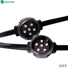 digital 40mm 5050 rgb led pixel module flexible light for Outside Building