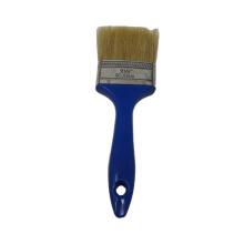 Paint Brush Blue Plastic Handle Painting Brush With White Bristle