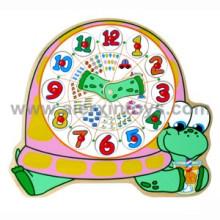 Puzzle de madera de los relojes (81357)