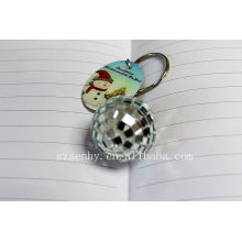personalized crystal ball key chain attachment