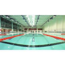 Techo prefabricado del braguero del arco ligero Q235B para la piscina