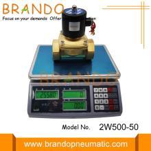 Brass 2W500-50 2/2 Solenoid Valves