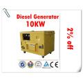 100% Reliable Generator Factory! ! 10kw Silent Diesel Generator