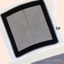 printemps et été femmes professionnelles impriment des foulards en soie