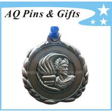 Custom 3D Medal in Antique Bronze Plating