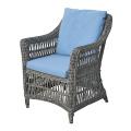 Resin Garden Wicker Rattan Dining Furniture Patio Arm Chair