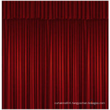 china manufacture white velvet stage curtains for sale