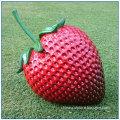 Outdoor Fruit Large Fiberglass Strawberry Statue