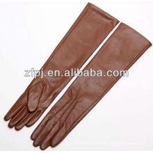 2016 newly stylish long arm leather gloves
