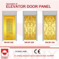 Травление Нержавеющая дверь дверной панели для оформления кабины лифта (SN-DP-328)