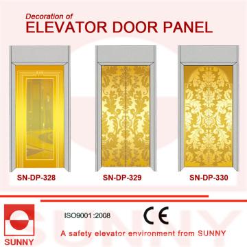 Etching Stainless Steel Door Panel for Elevator Cabin Decoration (SN-DP-328)
