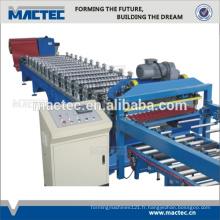 MEILLEURE machine ondulée en tôle de toiture en acier