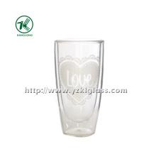 Garrafas de vidro de parede dupla (6.3 * 4.5 * 12 170ml)