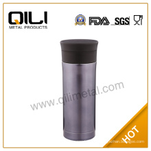2014 new type brown stainless steel coffee thermos