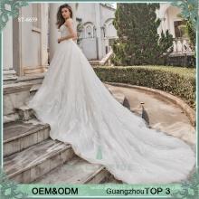 Sexy sweetheart vestido de casamento vestido de noiva bling bling vestido de noiva vestidos de vestido de casamento de trem longo vestidos