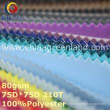 Spandex полиэстер Pongee Обычная ткань для спортивной одежды (GLLML362)