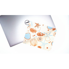 silicon dots microfiber mouse pad screen cloth