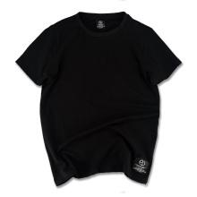 2017 melhor qualidade simples t-shirt em branco por atacado camisa