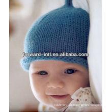 chapeaux de laine enfants tricotés