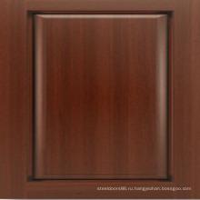 Сделано в Китае современная входная деревянная дверь из дуба входная дверь