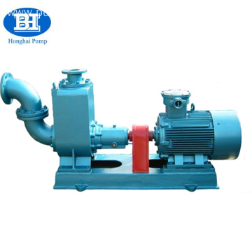 Marine self priming bilge sea water pump