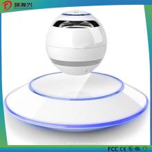 Haut-parleurs Bluetooth à lévitation portative à 360 degrés et à DEL multicolores