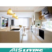 Armários de cozinha feitos-à-medida do PVC da mobília do estilo de Europa (AIS-K701)