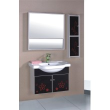 Modern PVC Painted Bathroom Cabinet Furniture (B-558)