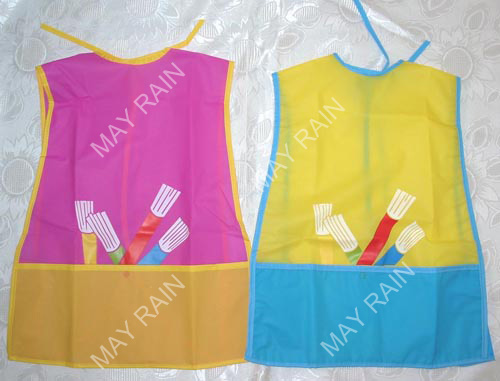 colorful kids apron