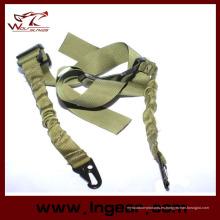 Dos cuerda punto táctico correa gancho correa Rifle Sling para Airsoft