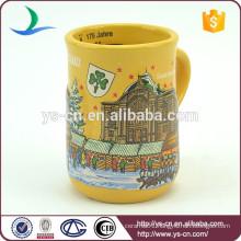 YScc0015-01 Santa Claus And Castle decorative christmas cup