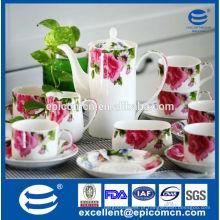 Novo chá de porcelana e café conjunto atacado
